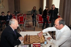 Friendly Match Sveshnikov vs. Skvortsov Takes Place in Riga