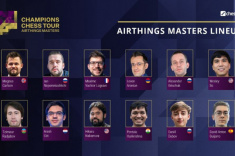 Airthings Masters Kicks Off on Chess24.com