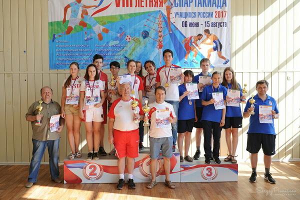 Сборная Москвы выиграла VIII летнюю Спартакиаду учащихся России