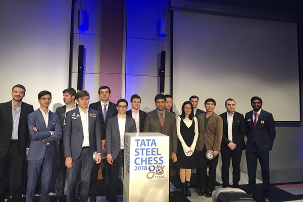 Фото: Твиттер Tata Steel Chess