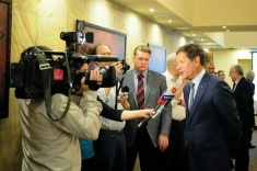 Chess Day Held at Russian Olympic Committee
