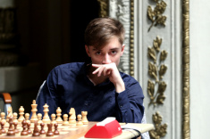 Daniil Dubov is Among Leaders of Airthings Masters